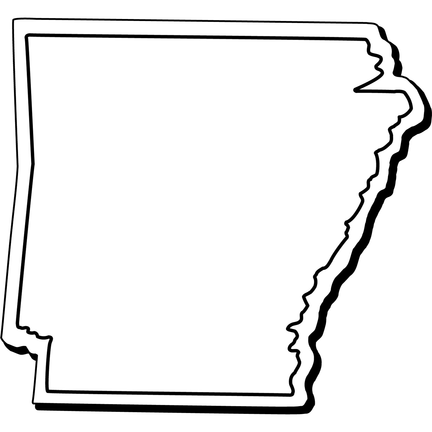 Item: Magnet-Arkansas1 -  Indoor Notekeeper&#0153 Magnet