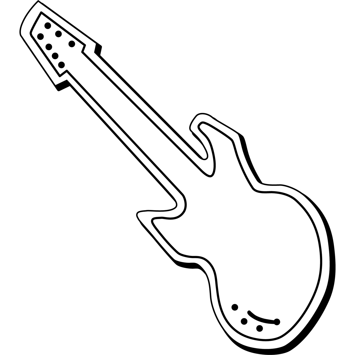 Item: Magnet-Guitar1 -  Indoor Notekeeper&#0153 Magnet