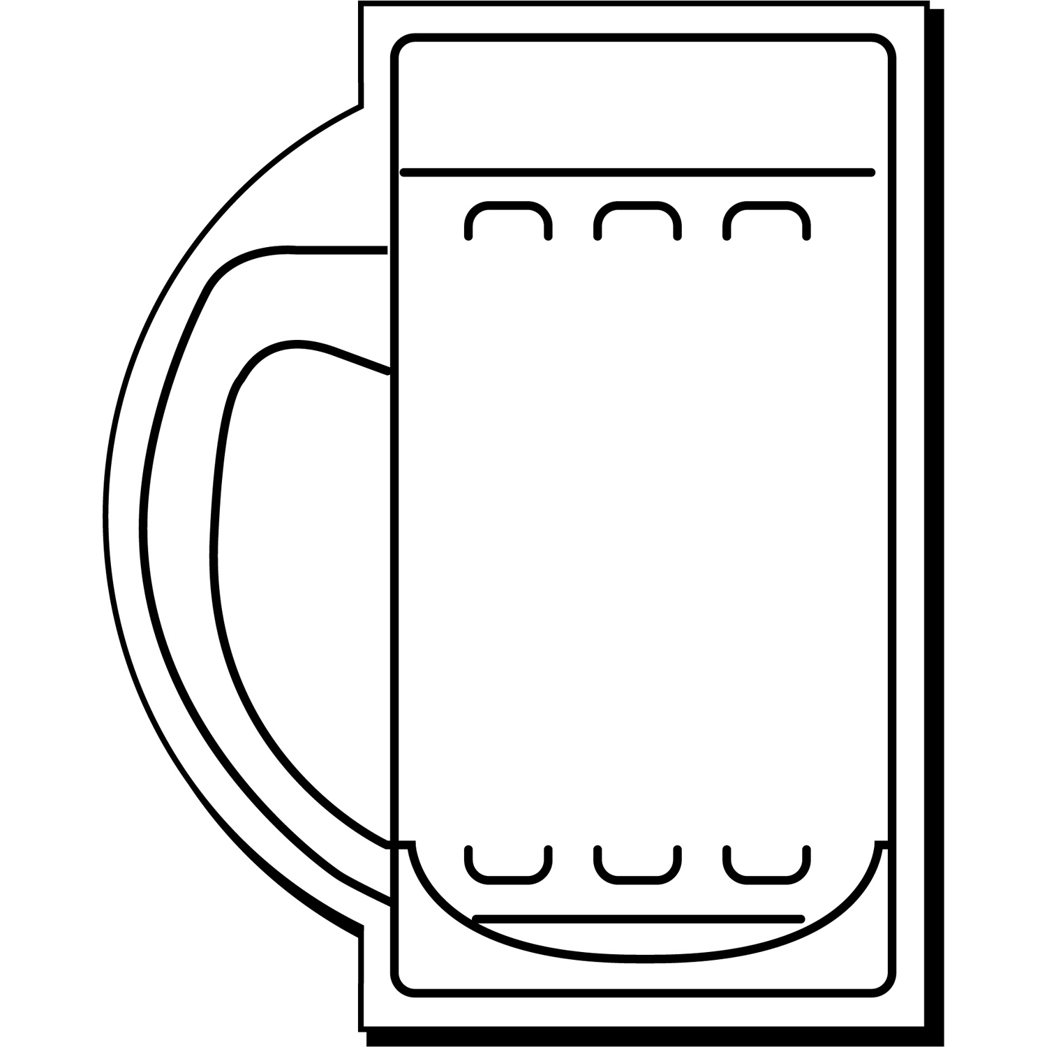 Item: Magnet-Mug1  -  Indoor Notekeeper&#0153 Magnet