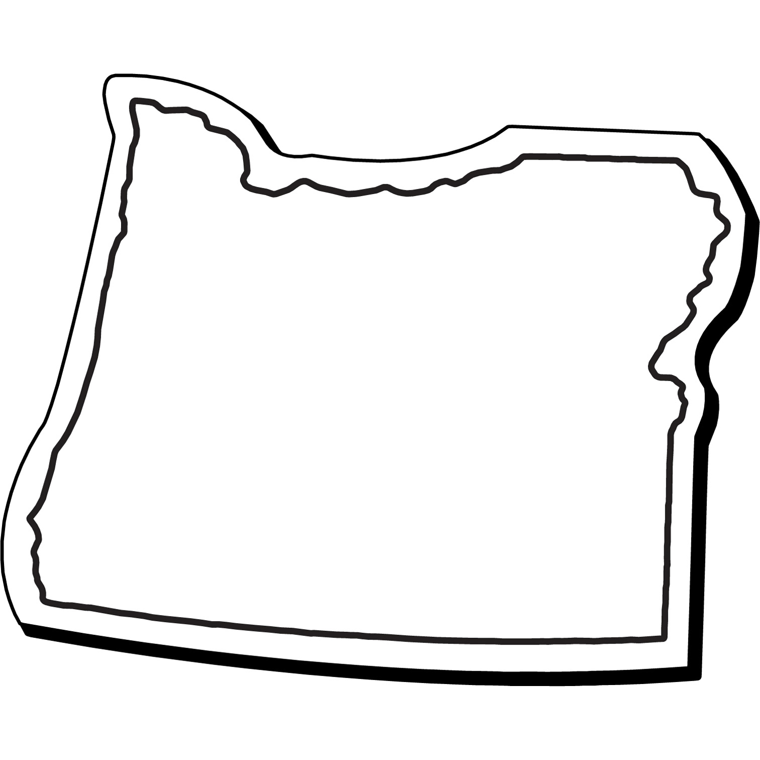 Item: Magnet-Oregon1 -  Indoor Notekeeper&#0153 Magnet