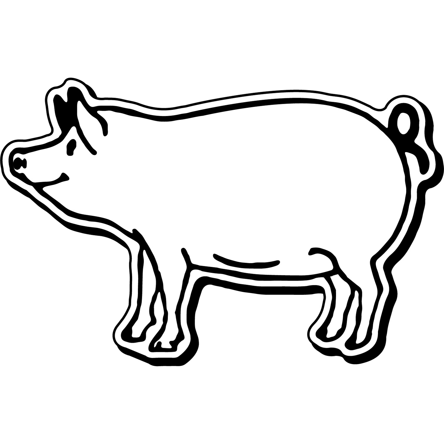 Item: Magnet-Pig4 -  Indoor Notekeeper&#0153 Magnet