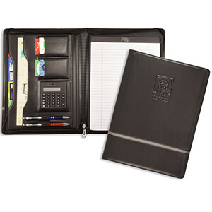 Chartwell Zippered Padfolio
