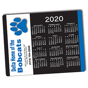 Item: T97909 -Totally Custom Adhesive  Mouse Pad Calendar