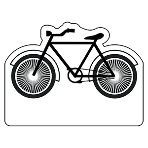 BICYCLE1 - Indoor NoteKeeper&#0153 Magnet