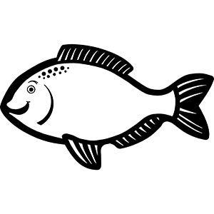 FISH1 - Indoor NoteKeeper&#0153 Magnet