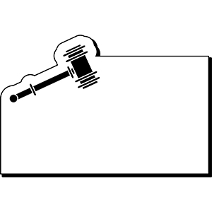GAVEL1 - Indoor NoteKeeper&#0153 Magnet