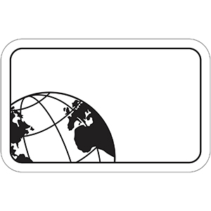 GLOBE1 - Indoor NoteKeeper&#0153 Magnet