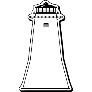 LIGHTHOUSE1 - Indoor NoteKeeper&#0153 Magnet
