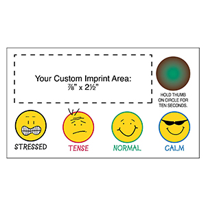 "Item: Magnet-19511 - ""Grins"" Stress-Test  Business Card Magnet"