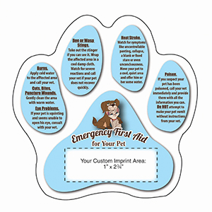 MG20065 - Pet Emergency Mega-Mag&#0153 Shaped Magnet