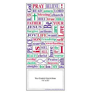 Item: Magnet-22084 - Religion Words Plus&#0153 Business Card