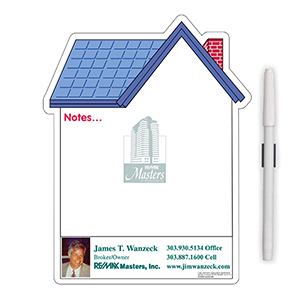 "Item: Magnet-98016 - ""House"" Memo Board Magnet"