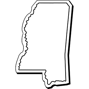 MISSISSIPPI1 - Indoor NoteKeeper&#0153 Magnet