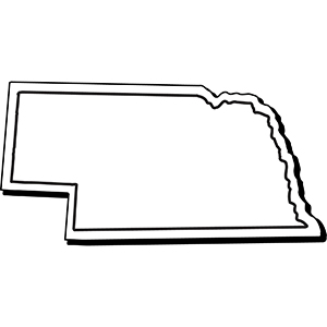 NEBRASKA1 - Indoor NoteKeeper&#0153 Magnet