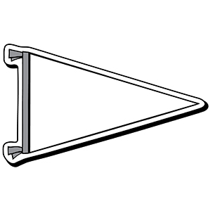 PENNANT2 - Indoor NoteKeeper&#0153 Magnet