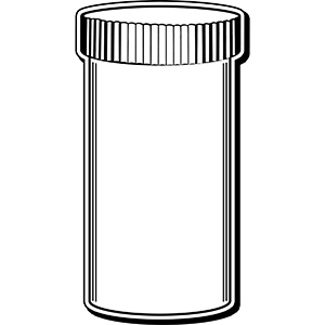 PILLBOTTLE1 - Indoor NoteKeeper&#0153 Magnet