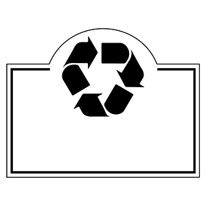 RECYCLE4 - Indoor NoteKeeper&#0153 Magnet