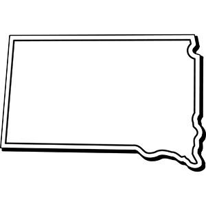 SOUTHDAKOTA1 - Indoor NoteKeeper&#0153 Magnet