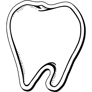 TOOTH1 - Indoor NoteKeeper&#0153 Magnet