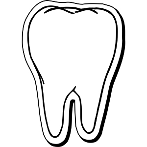 TOOTH3 - Indoor NoteKeeper&#0153 Magnet