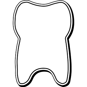TOOTH4 - Indoor NoteKeeper&#0153 Magnet