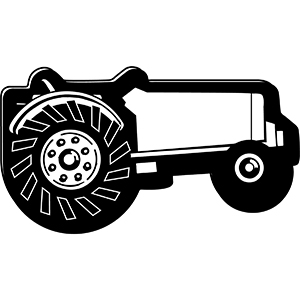 TRACTOR1 - Indoor NoteKeeper&#0153 Magnet