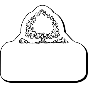 TREE1 - Indoor NoteKeeper&#0153 Magnet