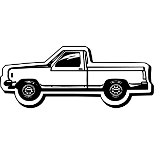 TRUCK6 - Indoor NoteKeeper&#0153 Magnet
